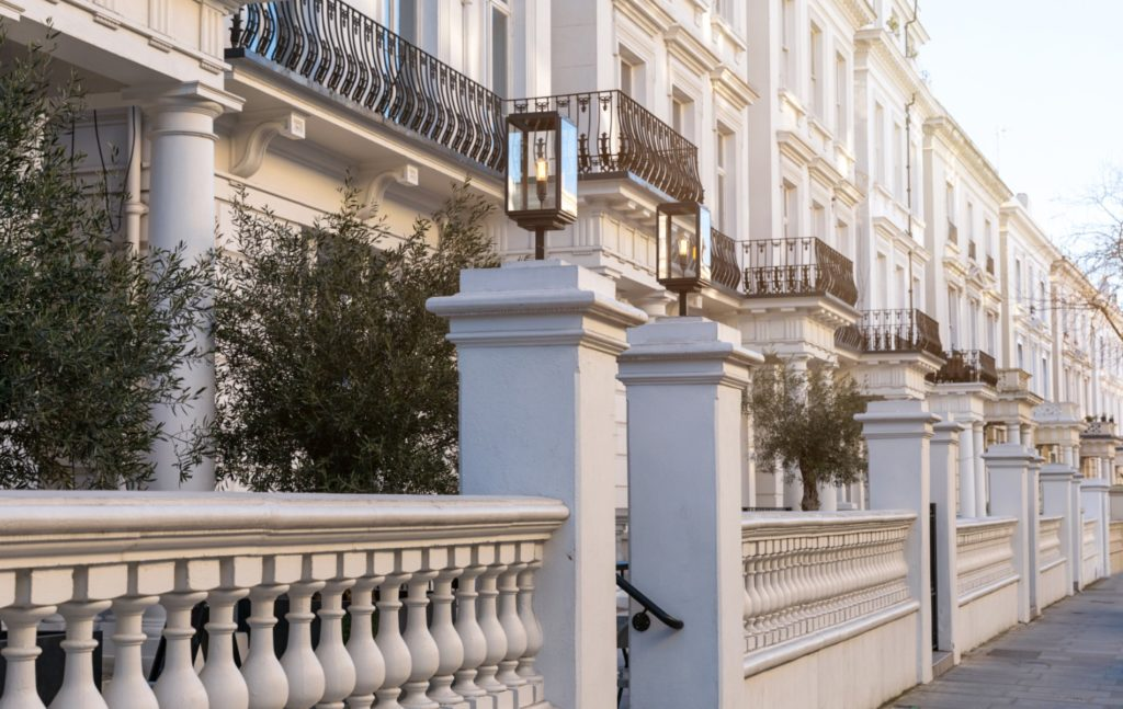 Stucco fronted London